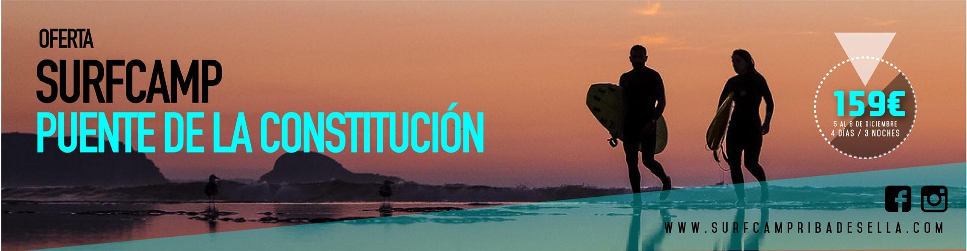 Oferta Surfcamp Puente Constitución 2019