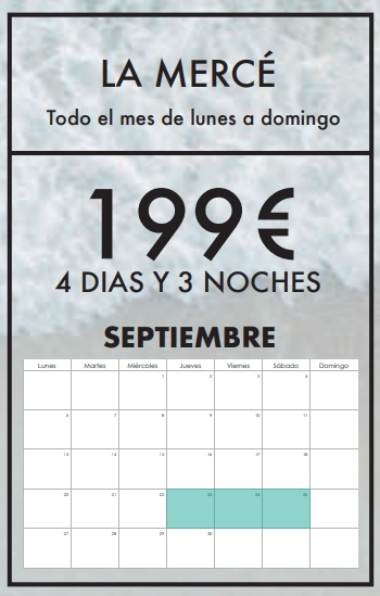 calendario surfcamp La Merce